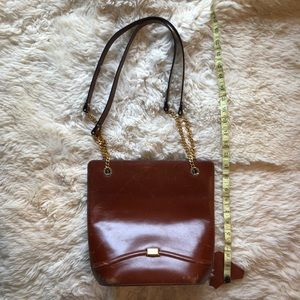 Vintage Bally Leather Shoulder Bag